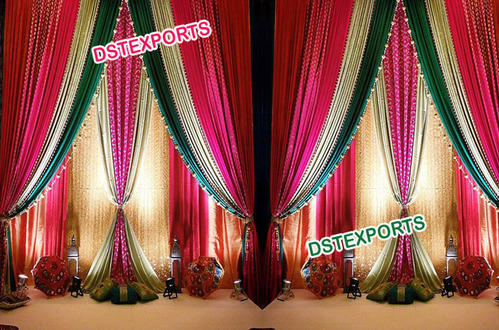 jotc curtains bridal shower backdrop tulle wedding il listing