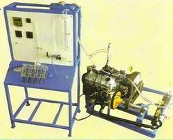 Multi Cylinder Petrol Engine Test Rig with Electrical Dynam.