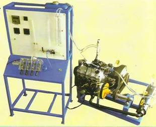 Ic Engine Lab Multi Cylinder Petrol Test Rig With Electrical Dynam Manufacturer From Ahmedabad