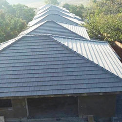Beautiful Concrete Roofing Tiles