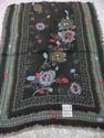 Woolen Jamawar Embroidered  Shawl,Stole, Scarf