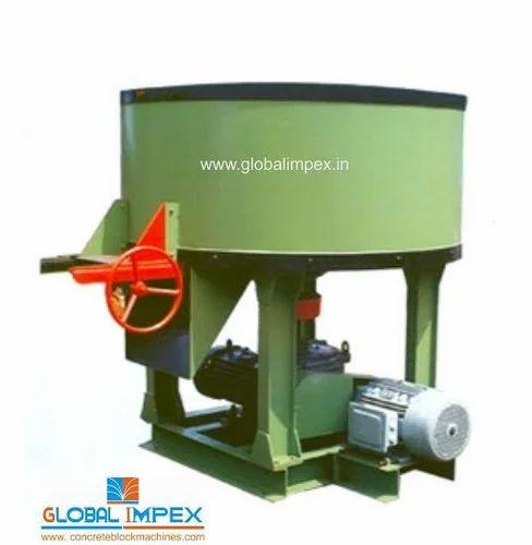 Global Orange Pan Mixer 350 kg, for Construction