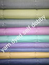 Yarn Dyed Self Dobby Fabrics