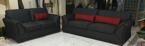 wood red and black sofa set warranty 5 year rs 21000 set id rh indiamart com Red and Black Leather Sofa Red and Black Sofa Sectionals