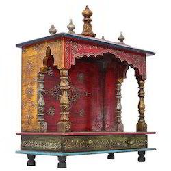 Wooden Home Temple/ Pooja Mandir For Home/ Pooja Ghar