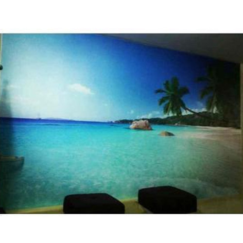 Beach Scene Wallpaper