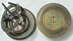 Brass Box Sundial Compass