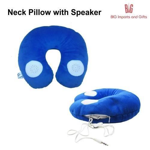 Speaker Neck Pillow