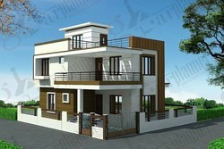 Industrial Construction Of Row Houses And Bungalow