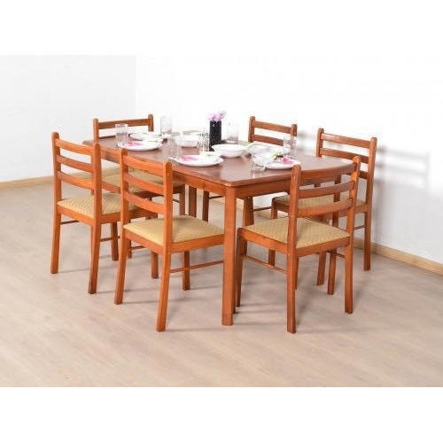 Teak Wood Modern Dining Table