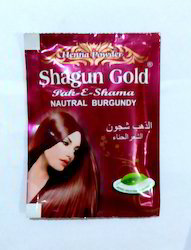 Shagun Gold Burgundy Henna Hair Dye Powder