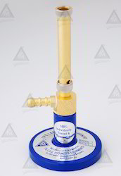 Bunsen Burner No.1 With Nozzle ( Half Brass)