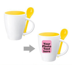Spoon Coffee Mug Printing Service
