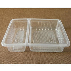 Two Compartment Packaging Tray