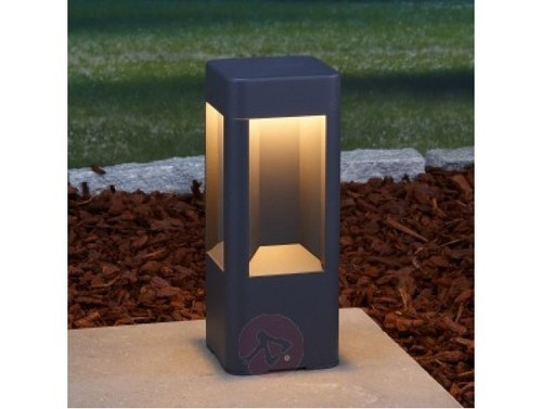 Pasolite 6w outdoor four window square style led bollard light pasolite 6w outdoor four window square style led bollard aloadofball Images