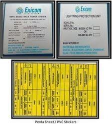 Penta & PVC Sheet Stickers