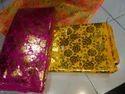 Foil Print Satin Fabric