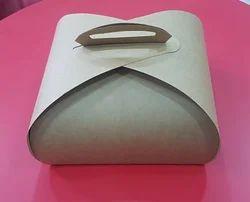 Craft Paper Cake Box