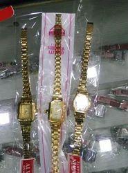 Golden Dial Watch