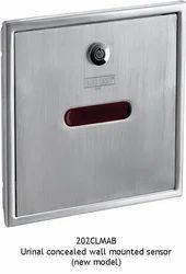 Concealed Sensor Urinal Flush Valve