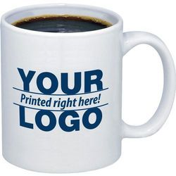 White, options, available Promotional Coffee Mug
