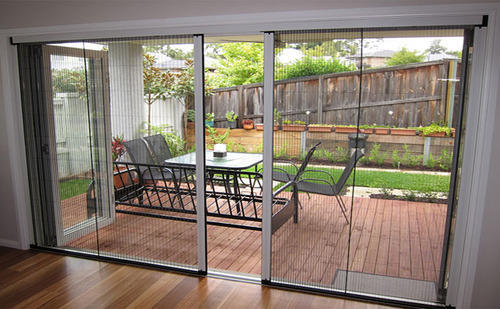 Pleated Net Doors & Pleated Net Doors at Rs 250 /square feet   Begumpet   Hyderabad   ID ...