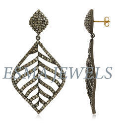 Pave Long Earring