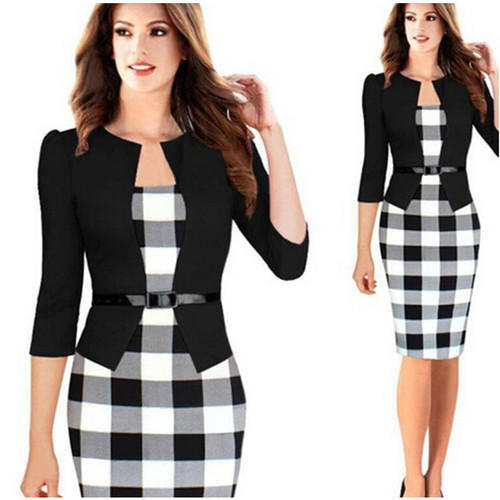 fa62822d7a5 Cotton Ladies Corporate Dress
