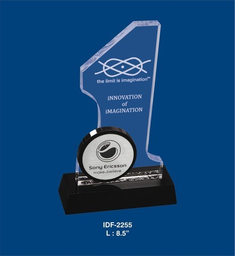 Printed Acrylic Trophy