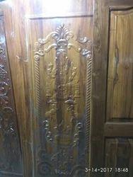 Designed Teak Doors