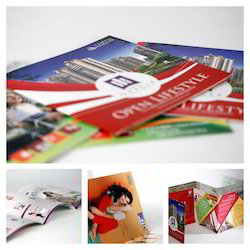 White Paper Corporate Brochure Printing Services, Location: Chennai India, Size: A3