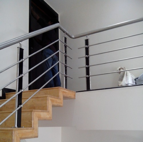 Bar Stainless Steel Railing Design For Stairs, Price Patna