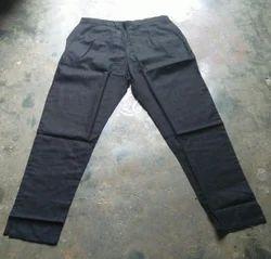 Baby Girls Multicolor Black Cotton Pants
