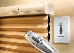 Dark coffee Wooden Automatic Remote Blind, for Window