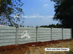 Concrete Boundary Compound Wall