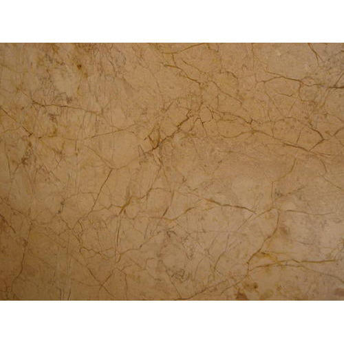 Cream Texture Marble, Thickness : 15-20 And 20-25 Mm