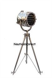 Designer Marine Nautical Chrome Spot Search Light - Floor Lamp