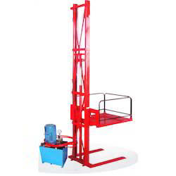 Single Mast Wall Mounted Stacker