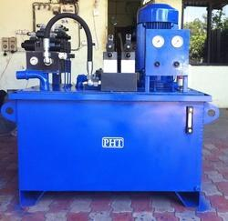 Hydraulic Power Pack For Fly Ash Bricks Making Machine