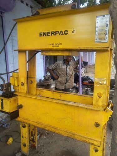 Enerpac Hydraulic H Frame Press Cap 100 Ton Hydro