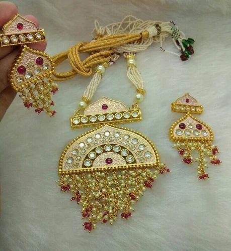 Kundan Dark Polki Necklaces Sets