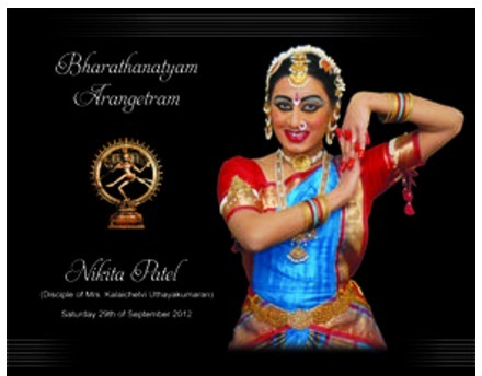 Arangetram Invitation Card View Specifications Details of