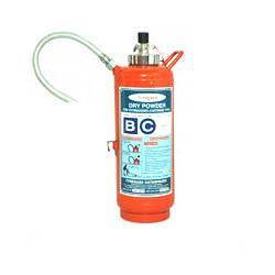 Red DCP Type Fire Extinguisher, Capacity: 4Kg
