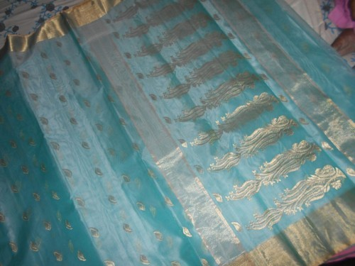 1eedf828dbfe81 Chanderi Katan Silk Saree, Rs 15000 /piece, Chanderi Sarees & Suits ...