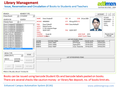 library management system 2 essay On the other hand we will to online library management systems that connect to multiple databases library management system essay, research paper.