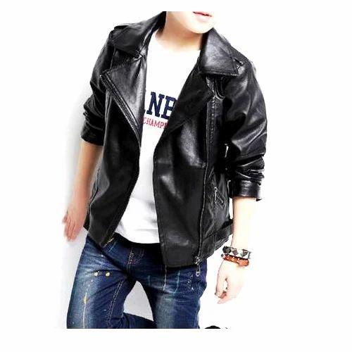 91287424e Kids Fancy Leather Jacket