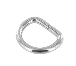 Stylish Wire Formed D Ring