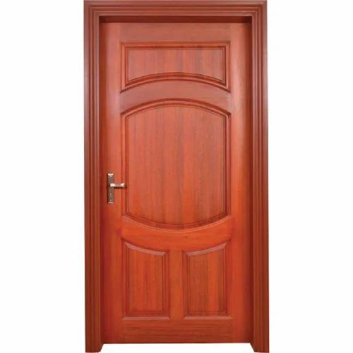 Solid Wood Panel Door with Frame Mahagony Finish  sc 1 st  IndiaMART & Solid Wood Panel Door With Frame Mahagony Finish Pre Hung Door ... pezcame.com