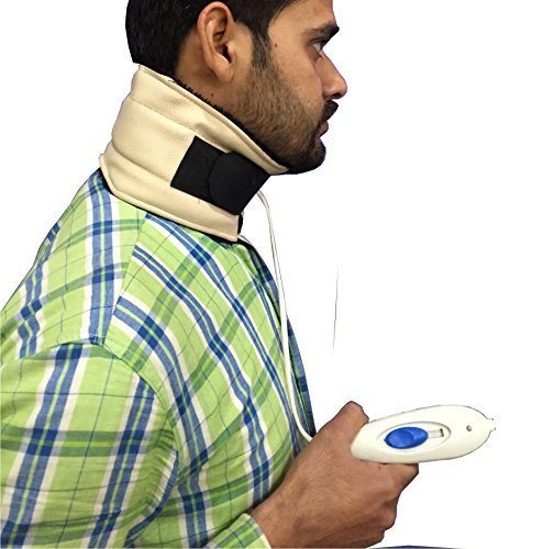 Krien Care Electric Heating Cervical Collar ( WHO-GMP Certi)