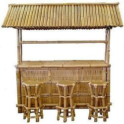 Bamboo Hut Dining Table